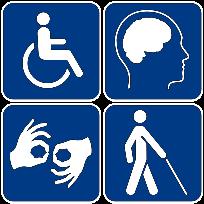 Ikona - Ułatwienia dla osób niepełnosprawnych